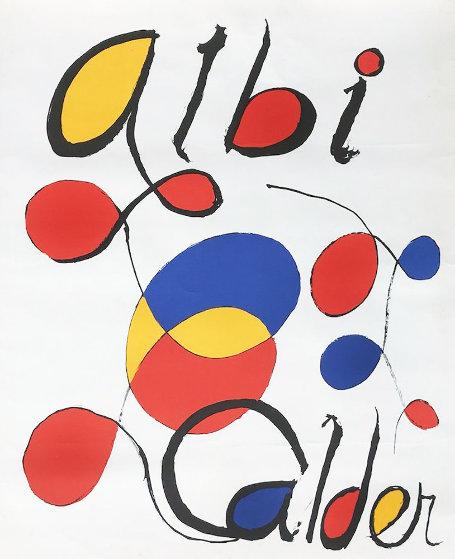 Albi Calder AP 1969 Limited Edition Print by Alexander Calder