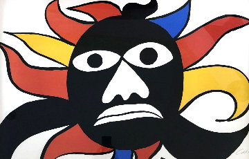 Black Mask 1969 Limited Edition Print - Alexander Calder