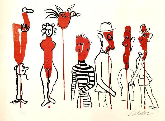 Derriere Le Miroir Limited Edition Print by Alexander Calder