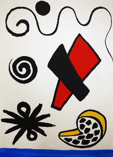 Spotted Pork Chop Limited Edition Print by Alexander Calder