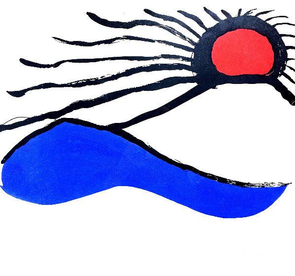 Seascape 1960 Limited Edition Print by Alexander Calder