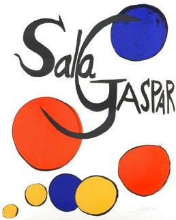 Sala Gaspar 1970 Limited Edition Print - Alexander Calder