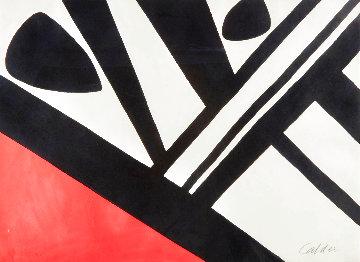 Acier Du Constructeur 1965 Limited Edition Print - Alexander Calder