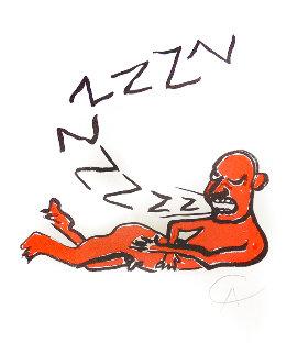 La Lettera Z Limited Edition Print - Alexander Calder