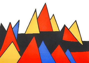 Pryamids 1973 Limited Edition Print - Alexander Calder