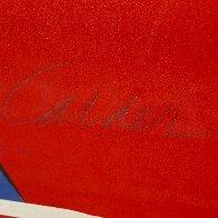 Pryamids 1973 Limited Edition Print by Alexander Calder - 1