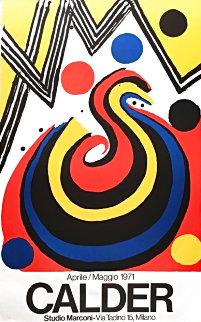 La Vague 1971 Limited Edition Print - Alexander Calder