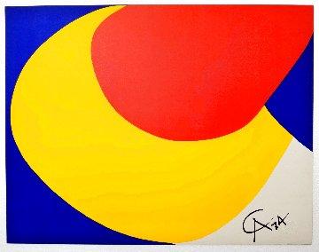 Flying Colors Suite: Convection 1974 Limited Edition Print - Alexander Calder