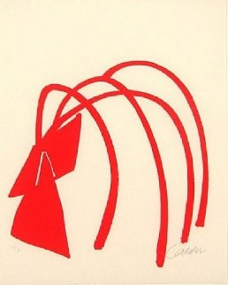 Four Arches 1974 Limited Edition Print - Alexander Calder