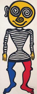 Puppet Man 1960 Limited Edition Print - Alexander Calder