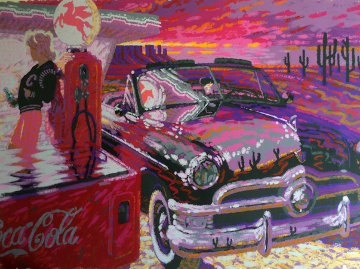 Coca Cola Limited Edition Print - Will Caldwell