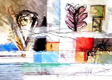 Small Memories Wool Tapestry 60x80 Huge Tapestry - Calman Shemi