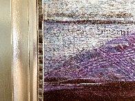 De Profundis Tapestry - Unique 1995 83x65 Tapestry by Calman Shemi - 3