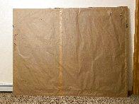 De Profundis Tapestry - Unique 1995 83x65 Tapestry by Calman Shemi - 4
