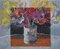 Still Life in Brown Limited Edition Print by Calman Shemi - 0