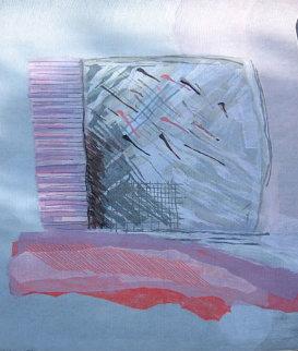 Pink Window Tapestry 88x53 Huge Tapestry - Calman Shemi