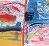Fiesta Tapestry 47x64 Tapestry by Calman Shemi - 4