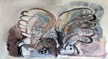 Angel #5 Tapestry 1985 60x72 Tapestry - Calman Shemi