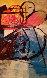 Festival Wool Tapestry 60x80 1990 Tapestry by Calman Shemi - 0