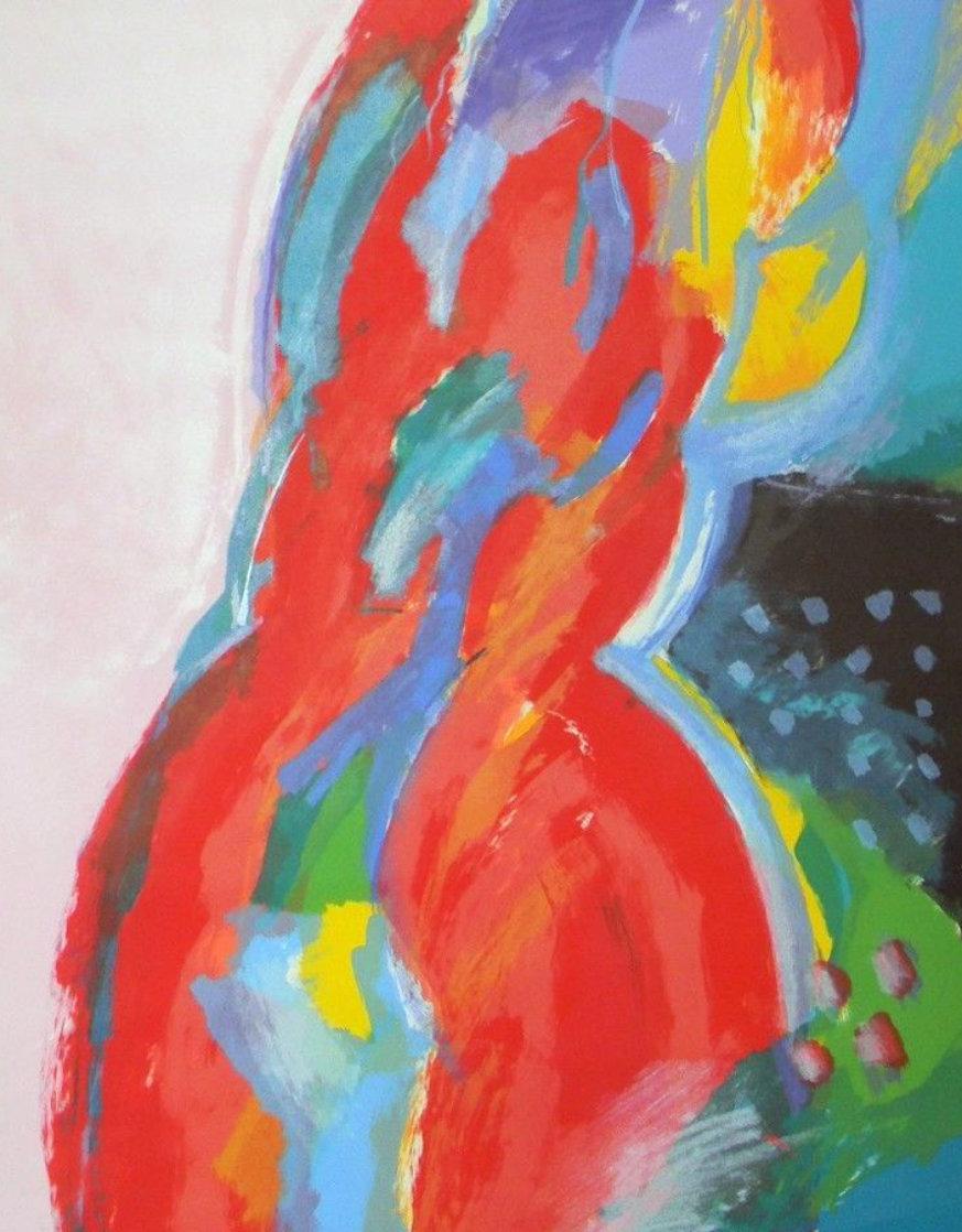 Woman Limited Edition Print by Calman Shemi