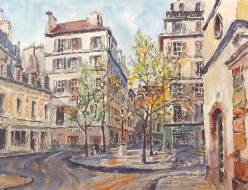 Paris Place Furstenberg 1997 Limited Edition Print - Pierre Eugene Cambier