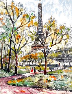 Le Tour Eiffel 1997 Limited Edition Print - Pierre Eugene Cambier
