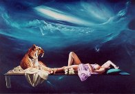 Tiger Lilly 1990 Limited Edition Print by Dario Campanile - 0