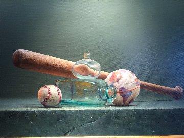 World Series 2007 36x28 Original Painting by Dario Campanile