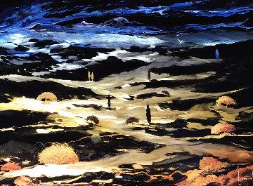 Beyond Earth 2014 22x18 Original Painting by Dario Campanile