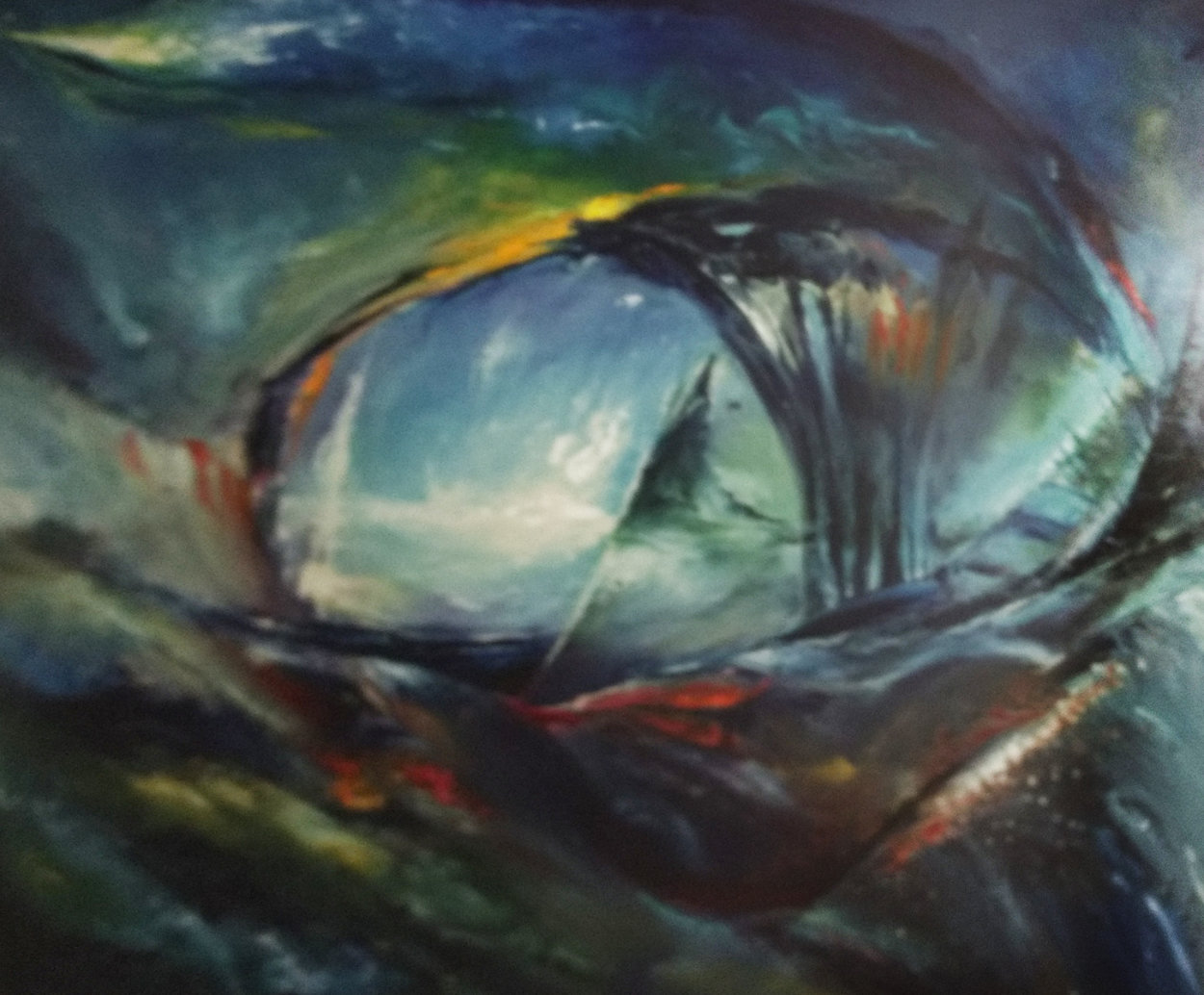 Avalon 1991 Embellished Limited Edition Print by Dario Campanile