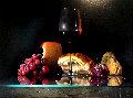 Godiamo 2009 29x22 Original Painting - Dario Campanile