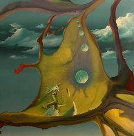 Crystal Ooze 1980 44x44 Super Huge  Original Painting by Dario Campanile - 1