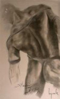 Torso (Nude) Pastel 1985 48x29 Huge  Works on Paper (not prints) - Dario Campanile
