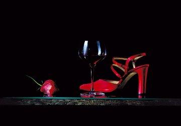 La Scarpa Rosa Limited Edition Print - Dario Campanile