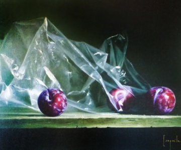 Plums in Plastic Limited Edition Print by Dario Campanile