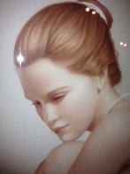 Nude Dancer 42x36 Original Painting by Edson Campos - 3