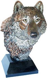 Nokona the Wanderer Legends Bronze Sculpture 1993 22 in  Sculpture by Kitty Cantrell
