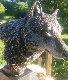 Nokona the Wanderer Legends Bronze Sculpture 1993 22 in  Sculpture - Kitty Cantrell