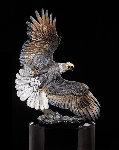 Windwalker Bronze Sculpture 58 in  Sculpture - Kitty Cantrell