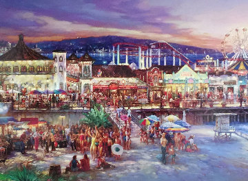 Santa Monica  Limited Edition Print by Cao Yong