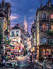 A Stroll in Montmartre 2009 Embellished Limited Edition Print by Cao Yong - 0