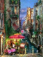 Red Umbrella 2000 Limited Edition Print by Cao Yong - 0