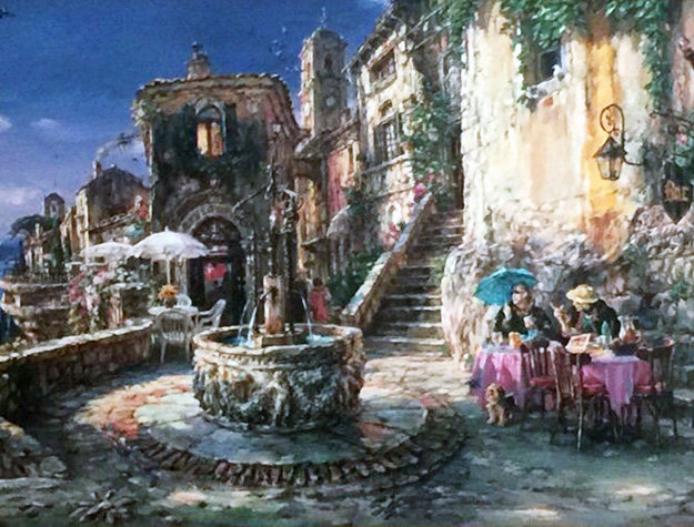 Mediterranean Sunrise 2004 Embellished Limited Edition Print by Cao Yong