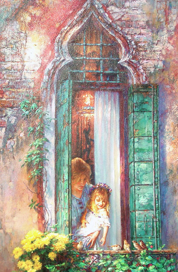 Morning Song 2000 Limited Edition Print by Cao Yong