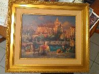 Pleasant Day 2000 Embellished Limited Edition Print by Cao Yong - 1