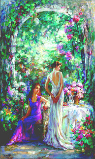 Afternoon Tea 2005 Embellished Limited Edition Print by Cao Yong