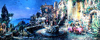 Mediterranean Sunrise AP Embellished Limited Edition Print by Cao Yong - 0