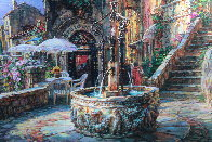 Mediterranean Sunrise AP Embellished Limited Edition Print by Cao Yong - 2