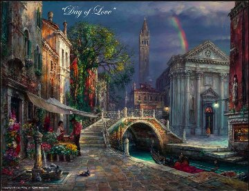 Day of Love 30x40 Super Huge  Limited Edition Print - Cao Yong