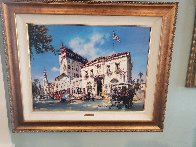Life in St. Augustine, Florida AP Embellished Limited Edition Print by Cao Yong - 1